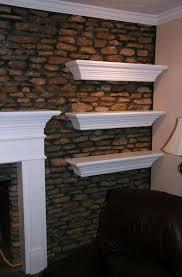 floating fireplace mantel fix gap home design ideas