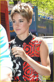 today show haircut shailene woodley calls the fault in our stars completely