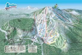 Mt Hood Trail Map Hoodoo Ski Area Snow Report Onthesnow