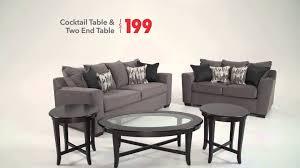skyline living room in the huddle bob u0027s discount furniture youtube