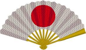 japanese fan sun japanese fan embroidery design
