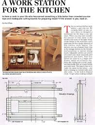 Kitchen Work Table by Kitchen Work Table Plans U2022 Woodarchivist