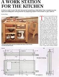 Kitchen Furniture Plans Kitchen Work Table Plans U2022 Woodarchivist