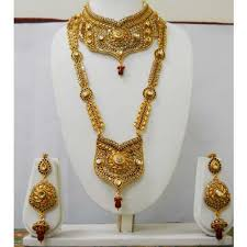 gold bridal set fancy high gold bridal sets at rs 1500 set borivali west