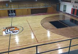 home design high basketball gyms doors cabinets the most