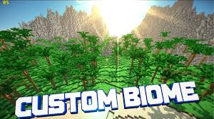 Biome Map Minecraft Pe 0 8 1 Custom Biome Download Youtube