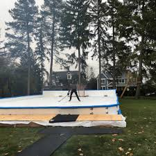 portable refrigerated rinks for small commercial or residential use