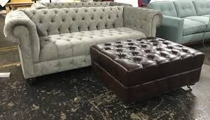 Custom Chesterfield Sofa Custom Chesterfield Sofa Ottoman