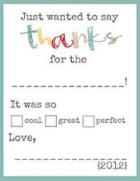 printable thank you cards for kids to write gift activities and
