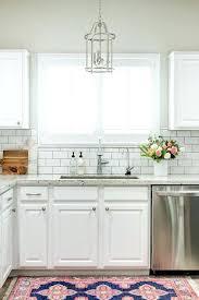 kitchens with subway tile backsplash marvelous white subway tile backsplash kitchen subway tile decor