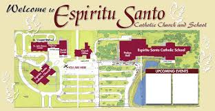 Safety Harbor Florida Map by Espiritu Santo Catholic Church