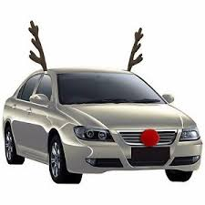 reindeer antlers for car rudolph car costume kit reindeer antlers and nose accessories