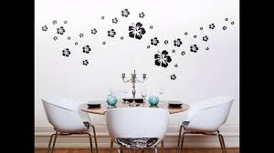 Beautiful Wall Stickers For Room Interior Design Beautiful Wall Decor Flowers Youtube