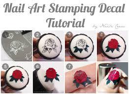 nail art stamping decal tutorial nailz craze