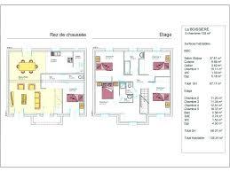 plan etage 4 chambres modele plan maison etage gratuit toit plat elk 147 2 scarr co