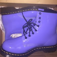 womens purple boots size 12 dr martens womens purple dr martens or combat boots from