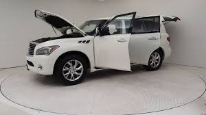 infiniti qx56 luggage carrier pre owned 2013 infiniti qx56 4wd 4dr ltd avail sport utility in
