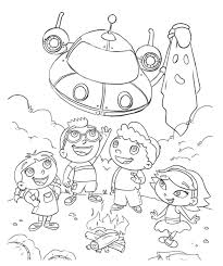 little einsteins coloring pages best 2540