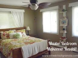 Bedroom Before And After Makeover - master bedroom makeover reveal little bits of granola