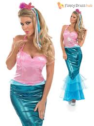 little mermaid halloween costume for adults ladies little mermaid costume sea fancy dress womens