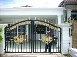 Thousands Ideas About Main Brilliant Home Front Gate Designs