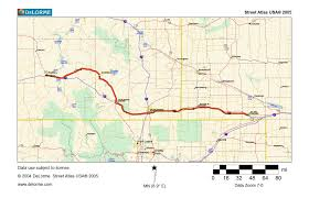 Lincoln Ne Map Map 3 U2013 Outbound Nebraska Into Wyoming Traveling The Lincoln Highway