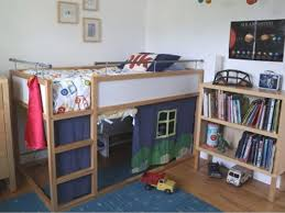 Loft Beds  Ikea Tromso Loft Bed Hack  Home Y Curtain Bunk Ikea - Tromso bunk bed