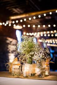 Backyard Wedding Ideas For Fall Hanging Tin Cans With Babys Breath So Cute Easy And Inexpensive