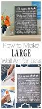 151 best images about room renovation home and diy group on how to make large wall art for less