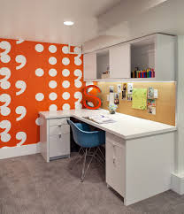 Orange Bedroom Walls Trend 25 Vibrant Home Offices With Bold Orange Brilliance