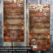 fall wedding programs rustic fall wedding background rustic living room