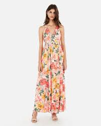 how to cut out the back of a cabinet floral surplice cut out lace up back maxi dress in floral print