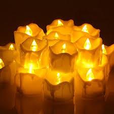 led tea lights with timer omgai 24 pcs battery operated led tea lights candle with timer