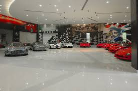 awesome car garages sbh royal auto gallery abu dhabi supercar collection video tour