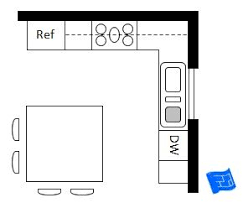 10x10 kitchen layout with island best 25 square kitchen layout ideas on square kitchen