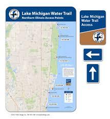 Lake Michigan Beaches Map by Maps U2014 Pulse Design