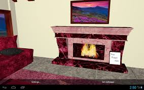 3d romantic fireplace live wallpaper hd android apps on google play