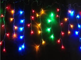 Multi Color Icicle Lights Curtain Net Icicle Lights Dongguan Obbo Lighting Co Ltd Christmas
