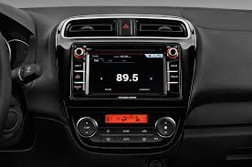 mitsubishi mirage sedan 2017 mitsubishi mirage g4 radio interior photo automotive com