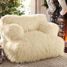Fuzzy White Chair Wonderful Design Ideas Fuzzy Chair Remarkable Decoration Diy It