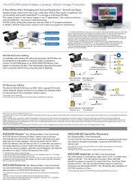 panasonic 3mos manual new panasonic cameras ag ac160a ag ac130a memory card camera