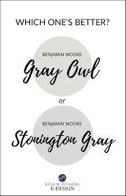 gray owl painted kitchen cabinets benjamin gray owl vs stonington gray comparing