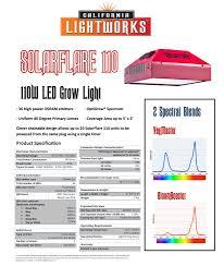 california led grow lights california light works solarflare 110w bloom booster led grow light