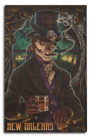 Homesick Candles Promo Code by Amazon Com Baron Samedi Voodoo New Orleans Louisiana 9x12 Art
