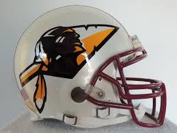 riddell washington redskins custom arrow football helmet large
