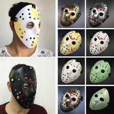 Jason Halloween Mask by Hockey Masks Friday Masks The 13th Horror Hockey Jason Vs