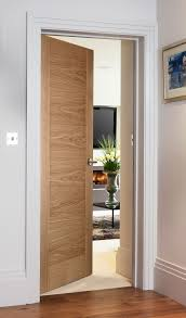 Modern Homes Interior by Sienna Natural Oak Contemporary Style Door For Modern Homes