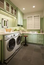 ideas for til laundry room tile ideas laundry room traditional with green