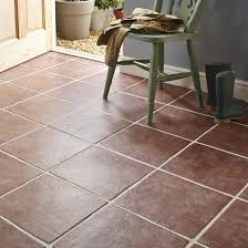 calcuta red stone effect ceramic floor tile pack of 9 l 330mm