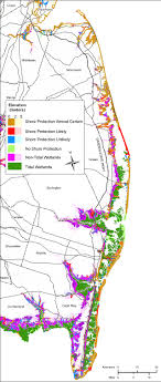map of maryland delaware and new jersey more sea level rise planning maps likelihood of shore protection